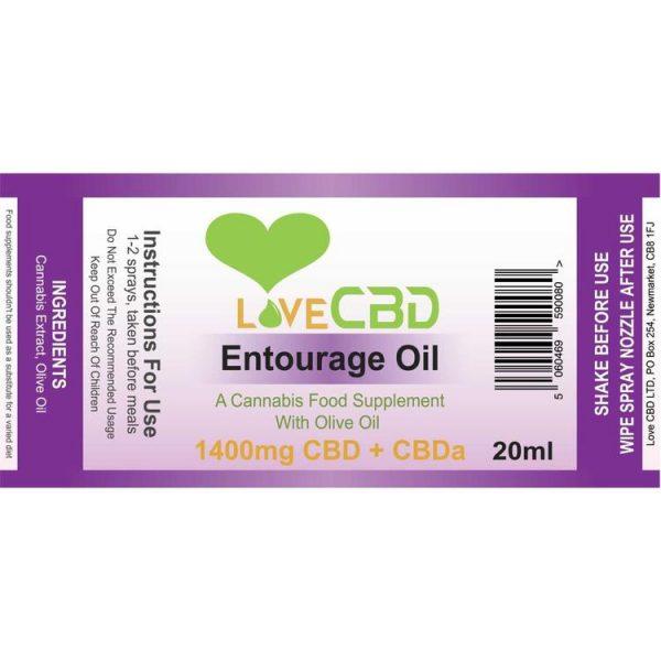 Entourage Oil Spray (7%)