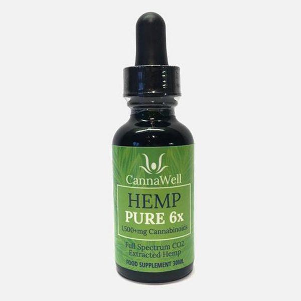 Hemp Pure 6x Oil
