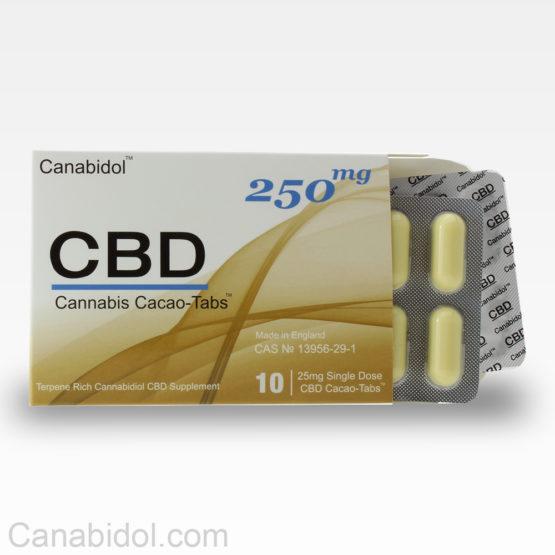 Cannabis Cacao tabs 250