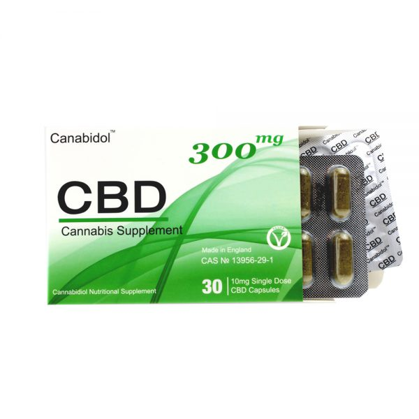 Canabidol CBD Oral Capsules