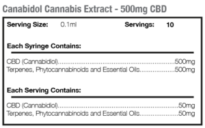 Cannabis Extract 500