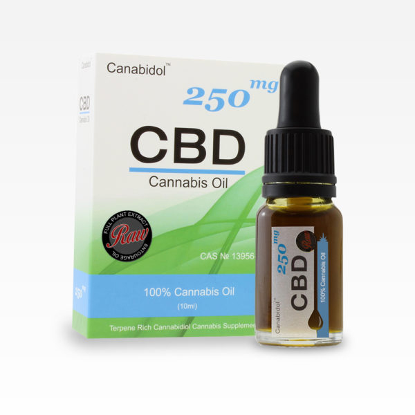 Canabidol CBD Cannabis Oil 250mg