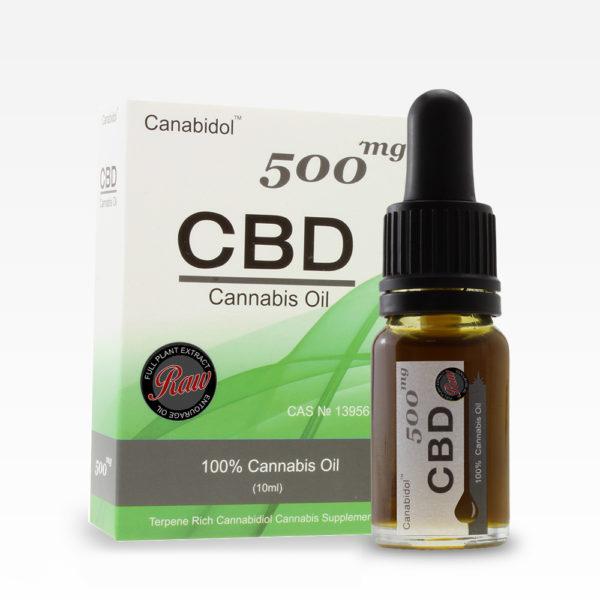 Canabidol CBD Cannabis Oil 500mg
