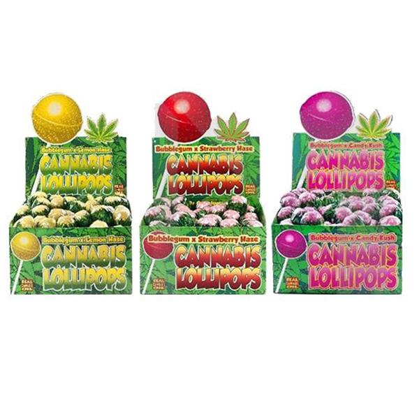 Flavoured Lollipops by Dr Greenlove