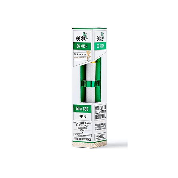 CBDFx 50mg Disposable CBD Terpenes