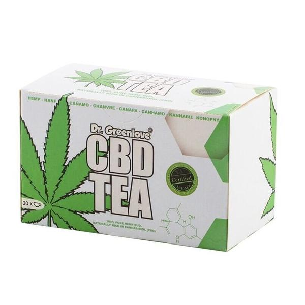 Dr. Greenlove CBD Tea 20 pack