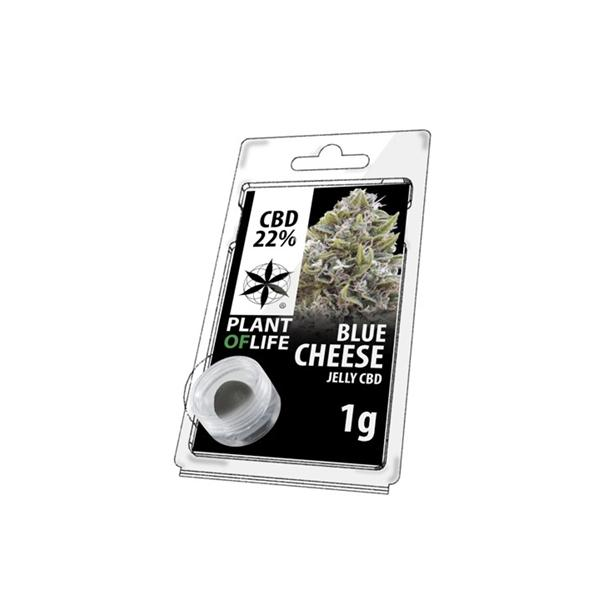 Plant of Life 22% CBD Jelly Blue Cheese 1g