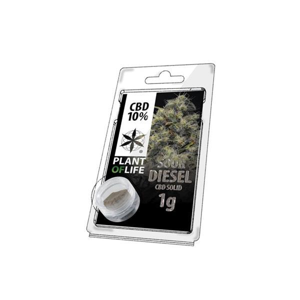 Plant of life 10% CBD 1g Sour Diesel