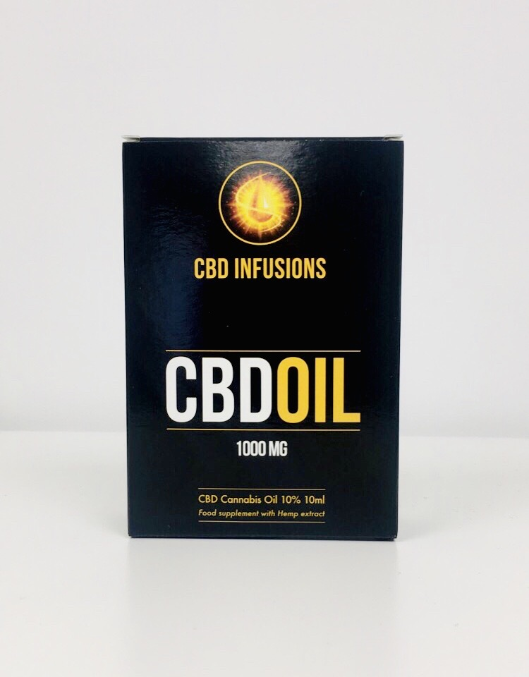 CBD Infusions CBD Oil 1000mg