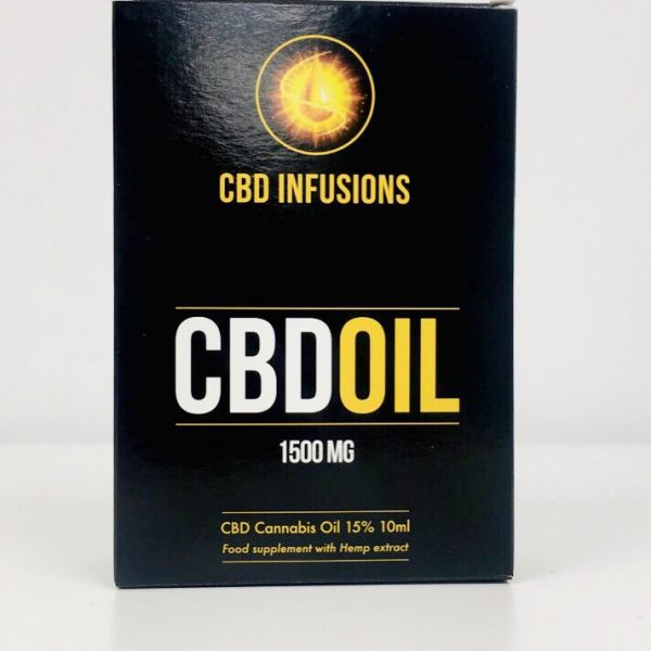 CBD Infusions CBD Oil 1500mg
