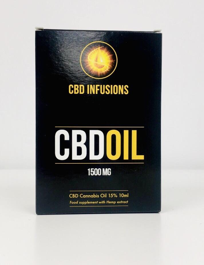 CBD Infusions CBD Oil 1500mg