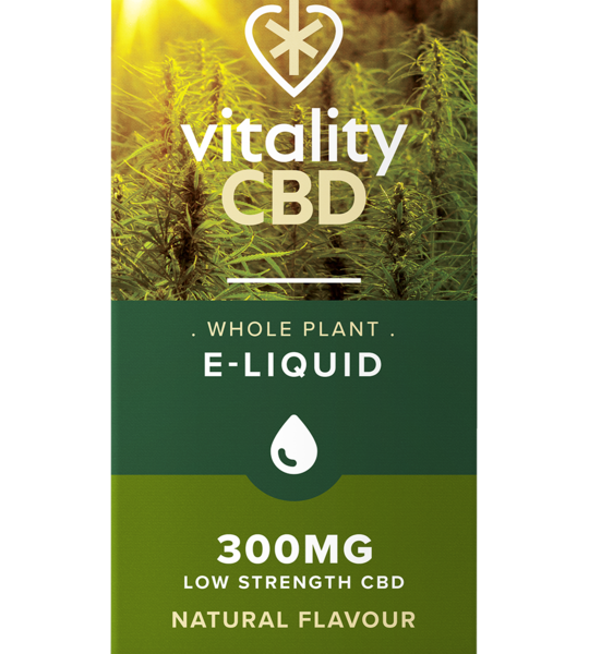 Vitality CBD Whole Plant e-liquid 300mg