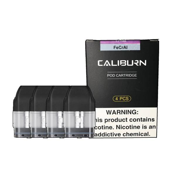 CaliBurn Pod Cartridge 4pack