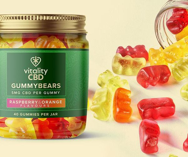 Vitality Gummy Bears 5mg