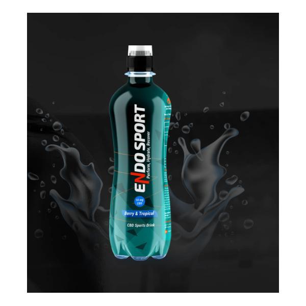 Endo Sport Isotonic CBD Drink 500ml Berry Tropical