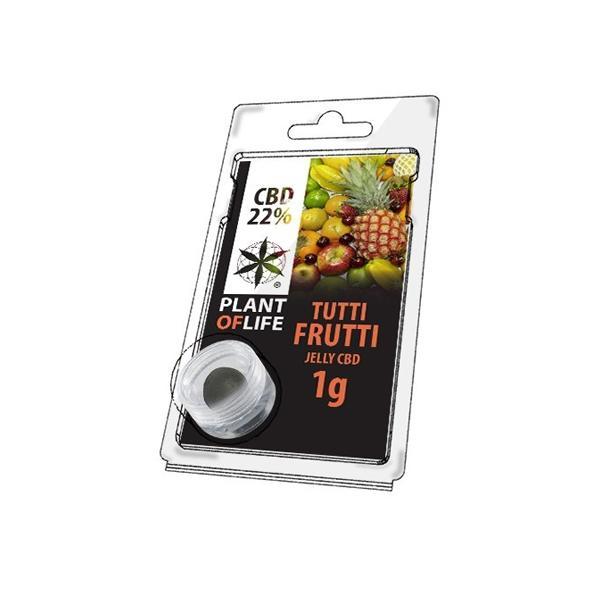 PoL CBD Jelly 1G Tutti Frutti 22%