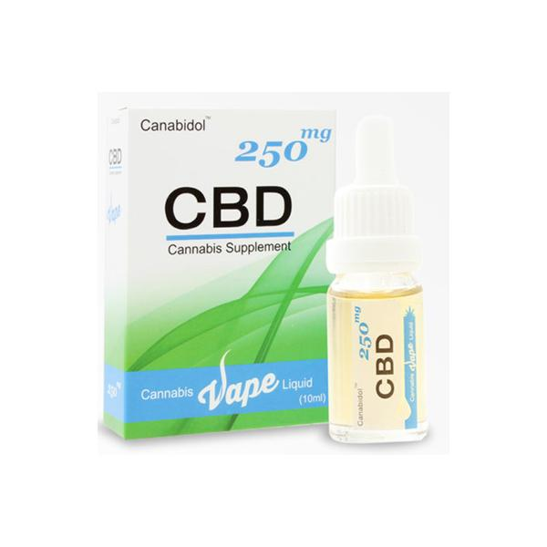 Canabidol CBD Vape Liquid 250mg
