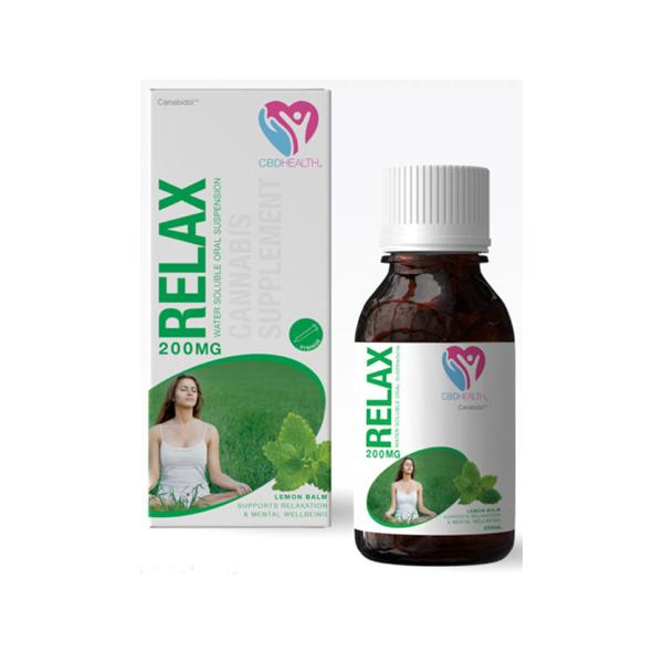 Canabidol Health CBD Supplement 200mg Relax
