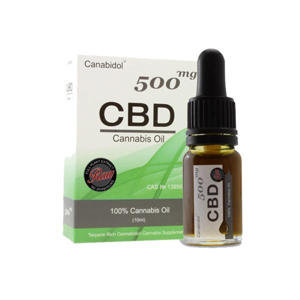 Canabidol Cannabis Oil 500mg