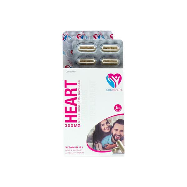Canabidol Health CBD Capsules 300mg Heart