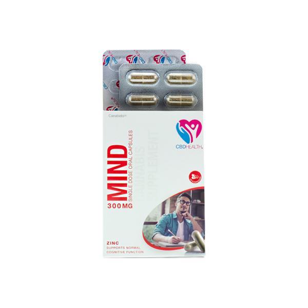 Canabidol Health CBD Capsules 300mg Mind