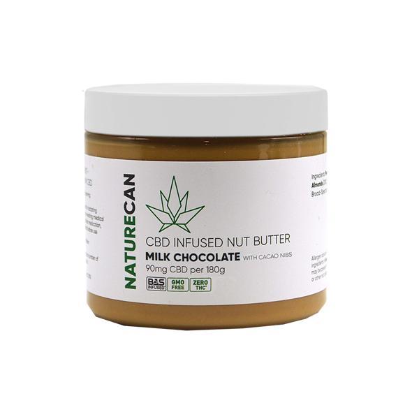 Naturecan CBD infused Nut Butter Milk Chocolate