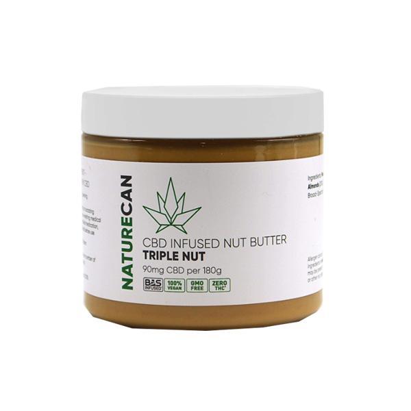 Naturecan CBD infused Nut Butter Tripple Nut