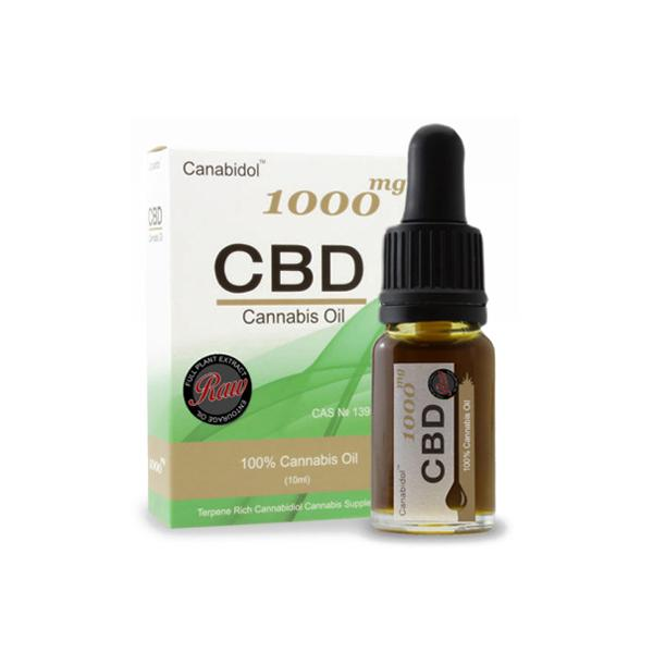 Canabidol Cannabis Oil 1000mg