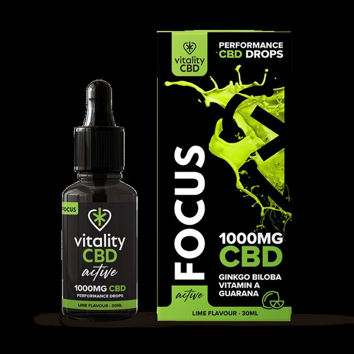 Vitality CBD Active Drops Focus