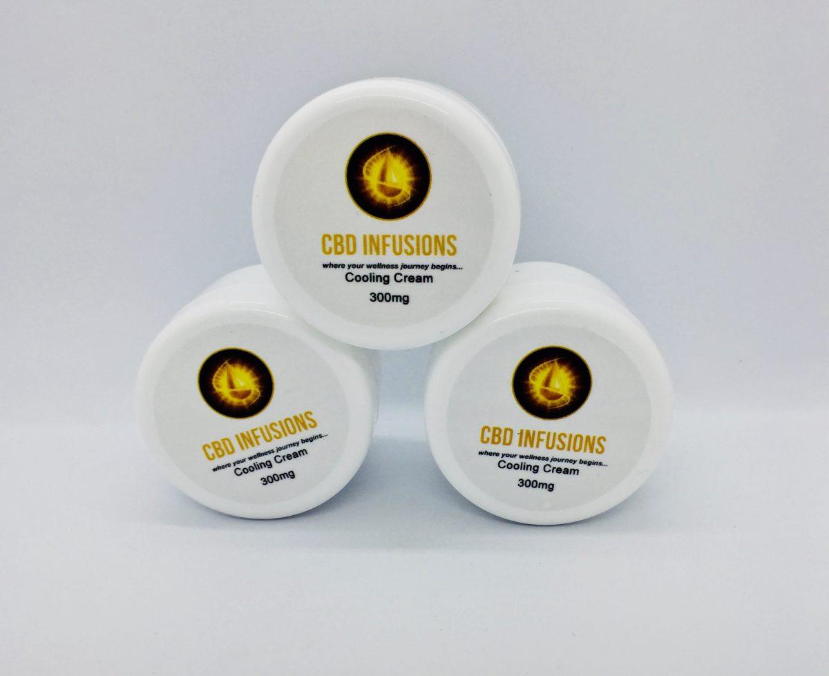 CBD Infusions CBD Cooling Skin Cream 300mg