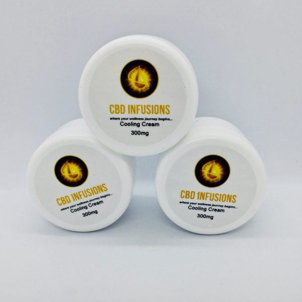 CBD Infusions CBD Cooling Skin Cream 300mg