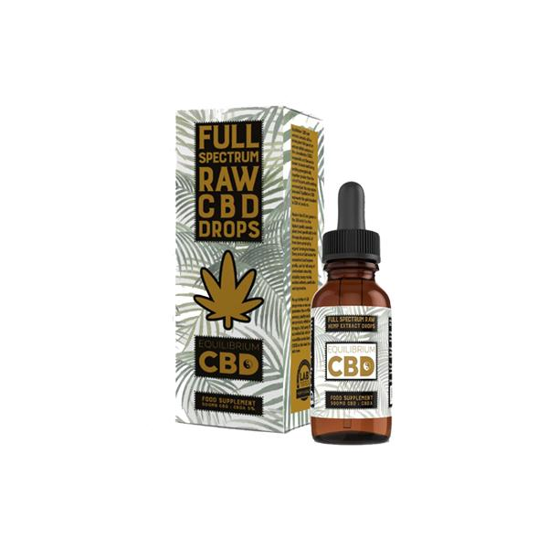 EquilibriumCBD Full Spectrum Raw CBD Drops