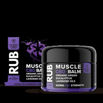 Vitality CBD Active Muscle Balm 300mg 50ml