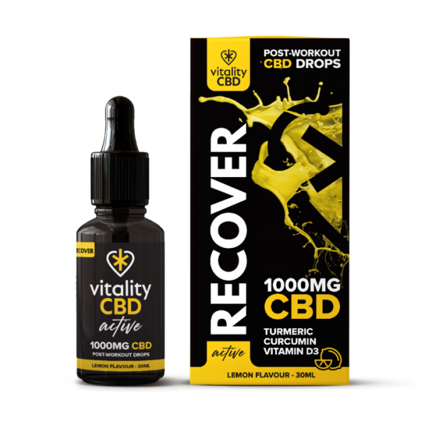 Vitality CBD Active Drops Recover 1000mg