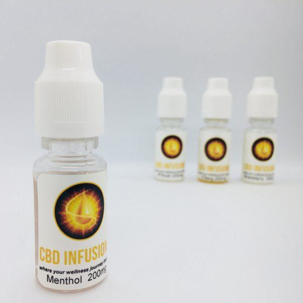 CBD Infusions E-liquid 200mg Menthol