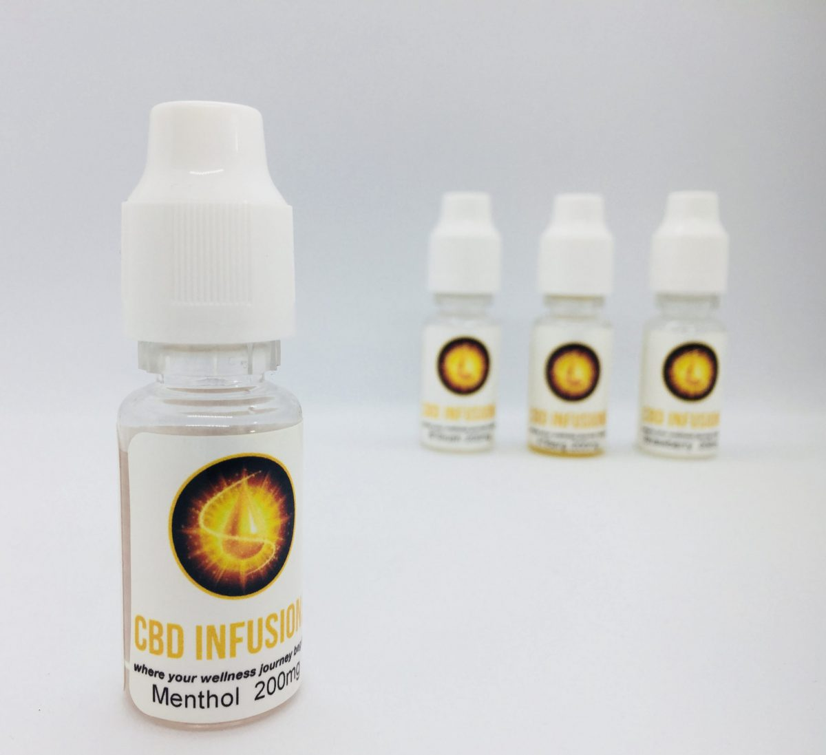 CBD Infusions E-liquid 200mg Menthol