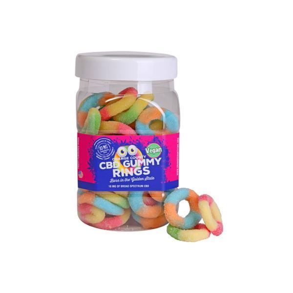 Orange County CBD 25mg Gummy Rings - Large Pack