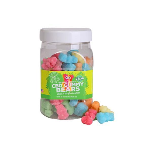 Orange County CBD 50mg Gummy Bears - Large Pack