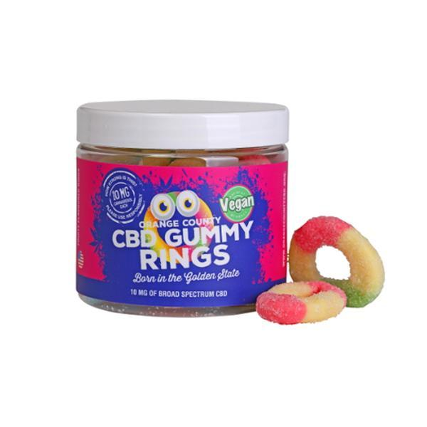 Orange County CBD 50mg Gummy Rings - Small Pack
