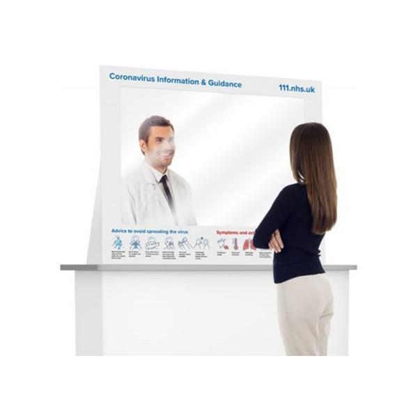 Counter Barrier Hygiene Screen