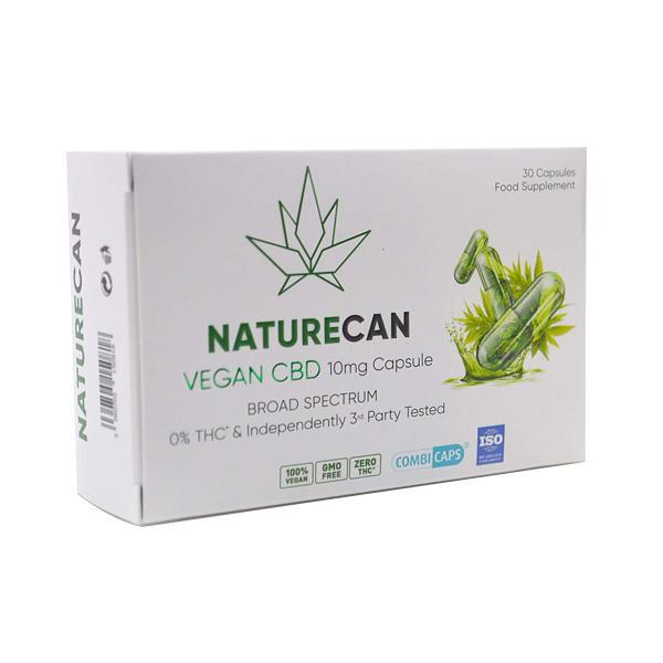 Naturecan 10mg Vegan CBD Capsules