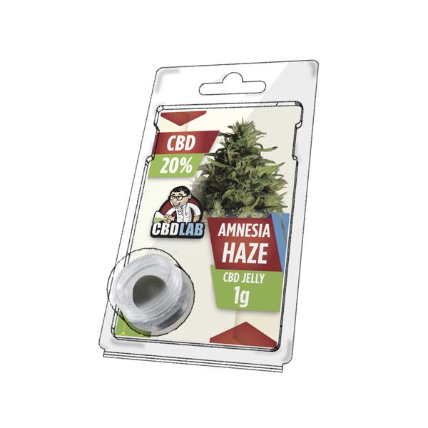 CBD LAB 1g Jelly Amnesia Haze 20%