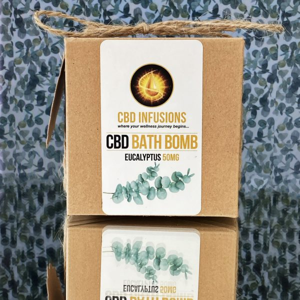 Bath Bombs - 50mg CBD
