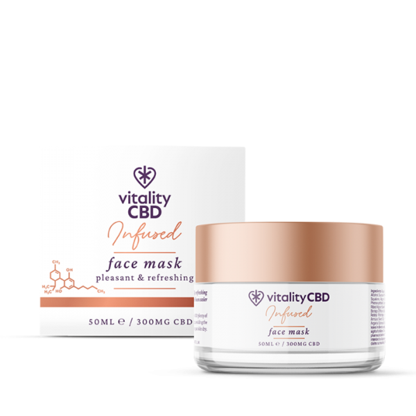 Vitality Infused: CBD Face Mask