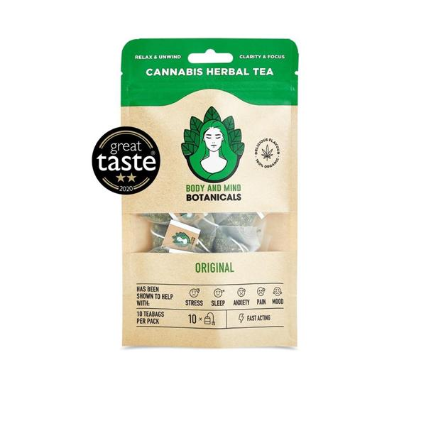Cannabis Herbal Tea Bags - Original