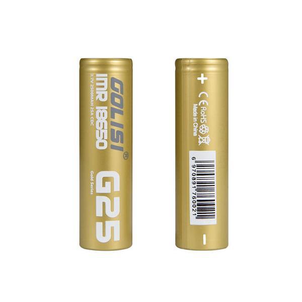 Golisi G25 Battery 2500mAh 20A