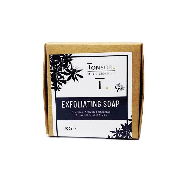 Men's Grooming Exfoliating CBD Soap