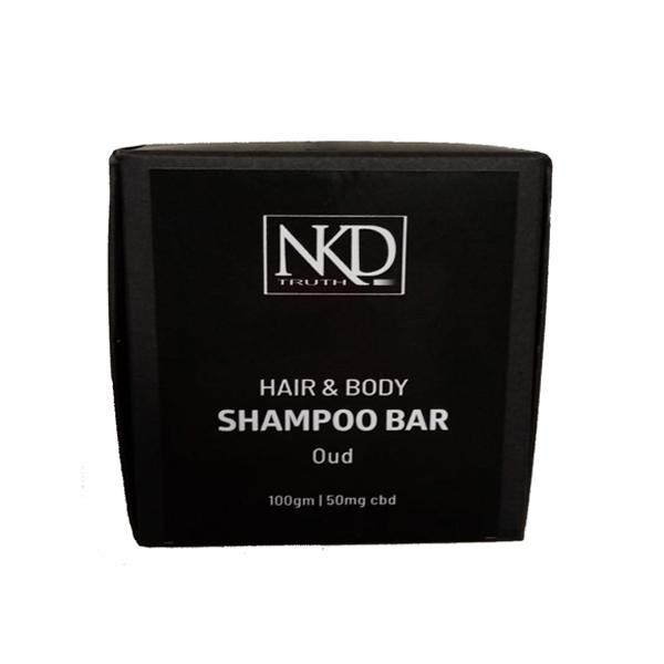 Oud fragranced shampoo bar