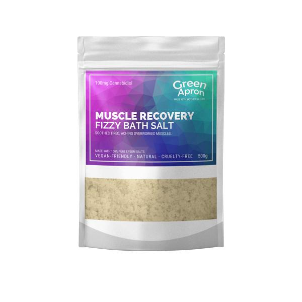 CBD Muscle Recovery Bath Salts 500g