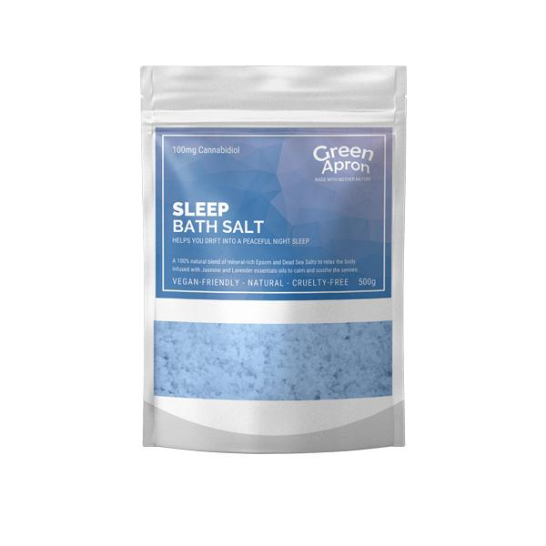 CBD Sleep Bath Salts 500g